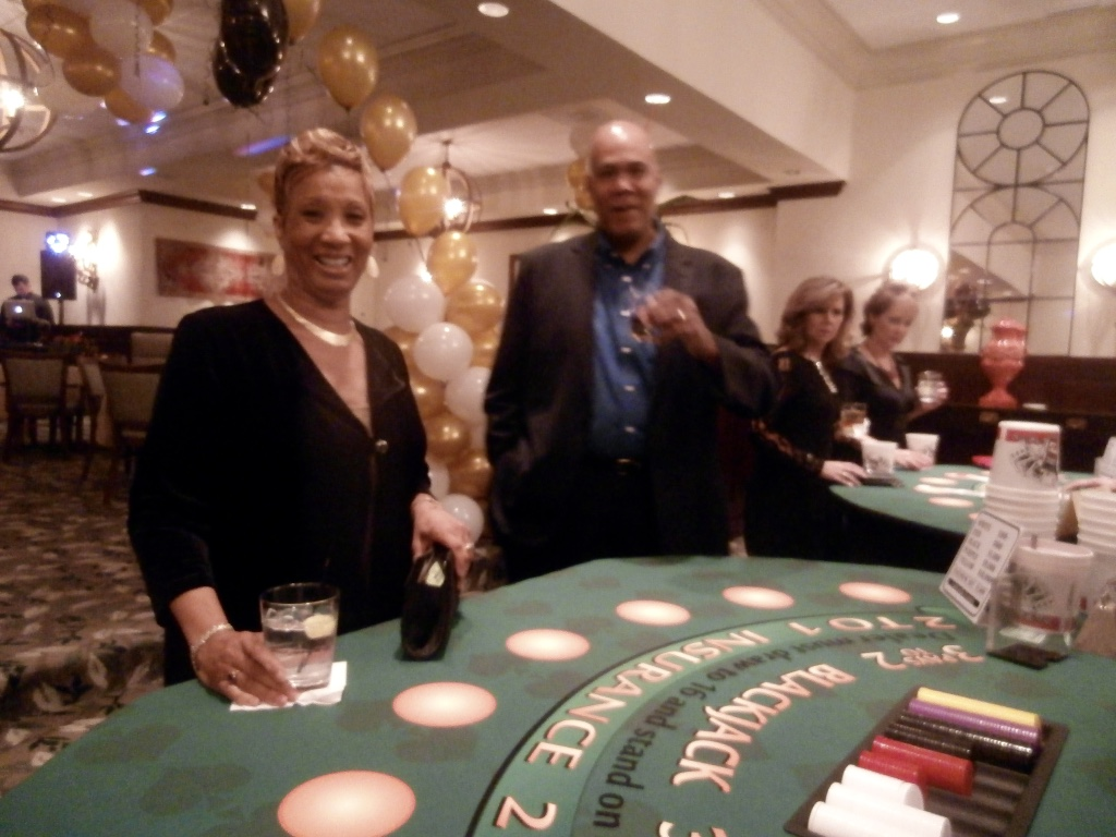 fundraiser casino theme party