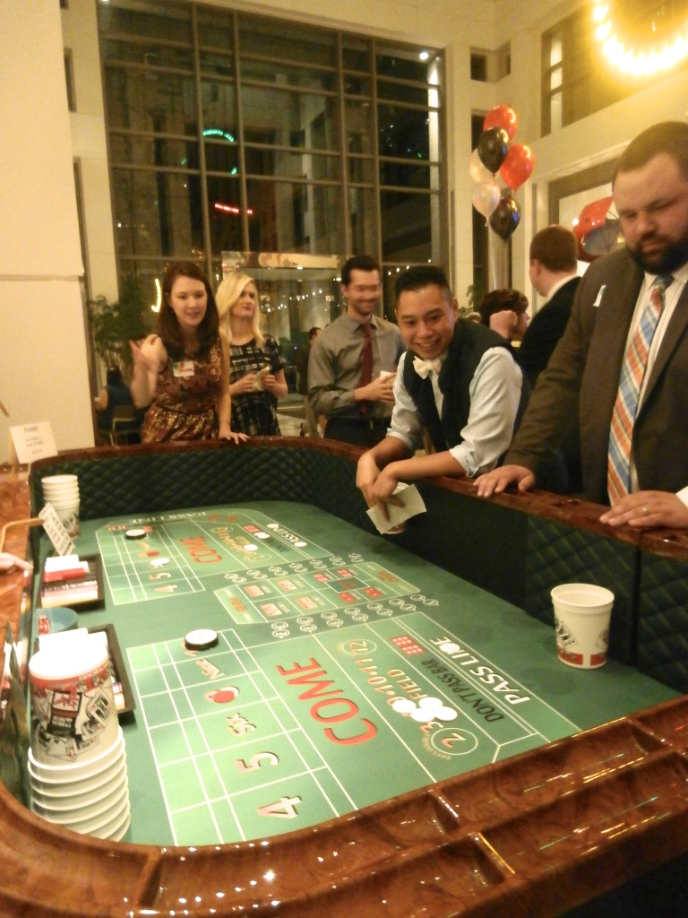 casino party fundraiser rentals