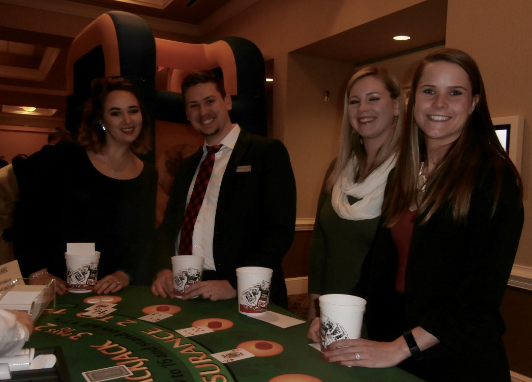 Casino night theme party